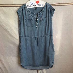 Eddie Bauer - Lightweight Denim Shirt Dress